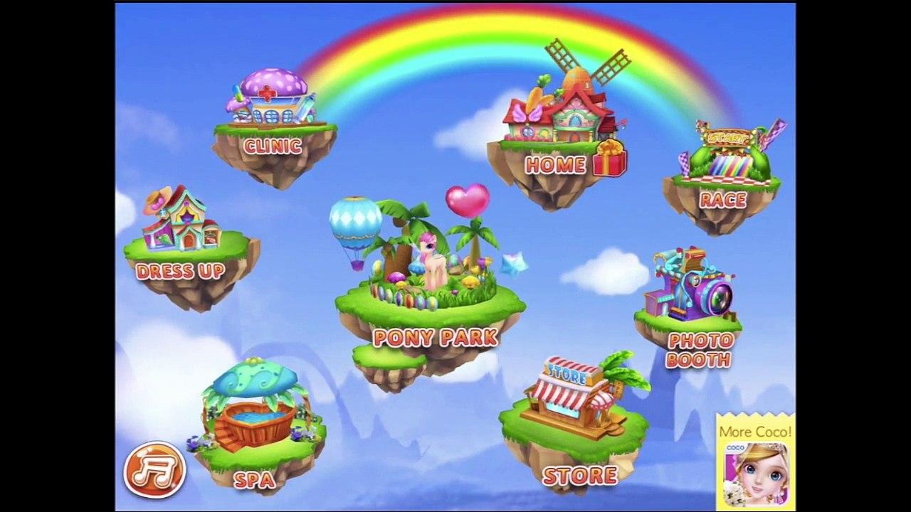 Coco Pony My Dream Pet Part 1 Everything Unlocked Ipad App Demo For Kids Ellie Ž±ç‰‡ Dailymotion