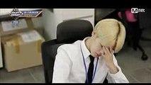 Office skit- pt 7 Jimin rapping [BTS COUNTDOWN 20171012 @ M COUNTDOWN]