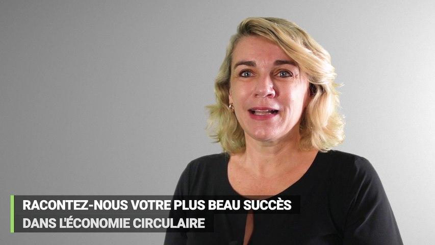 Nathalie Boyer, ambassadrice de l'économie circulaire