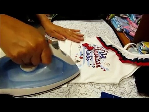 How to sew tulle to a t-shirt – tutu dress from a shirt