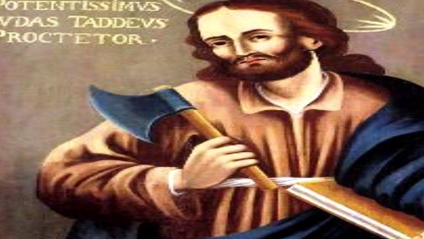 Oración y novena a San Judas Tadeo