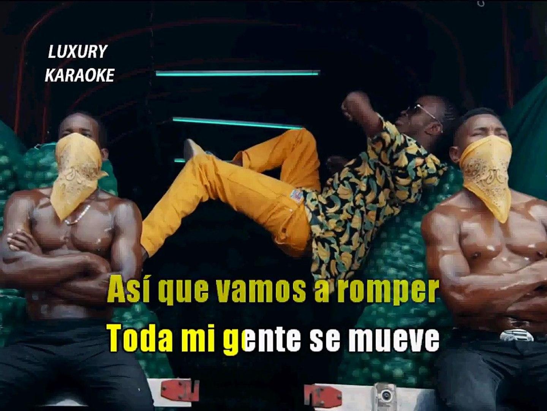 J Balvin, Willy William feat Beyoncé - Mi gente KARAOKE / INSTRUMENTAL