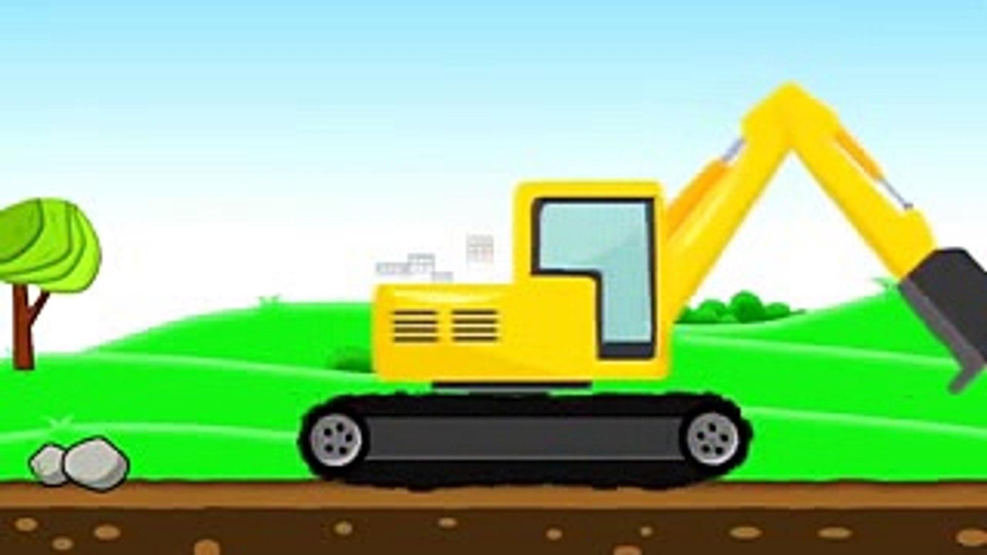 630 Gambar Kartun Mobil Alat Berat Terbaru