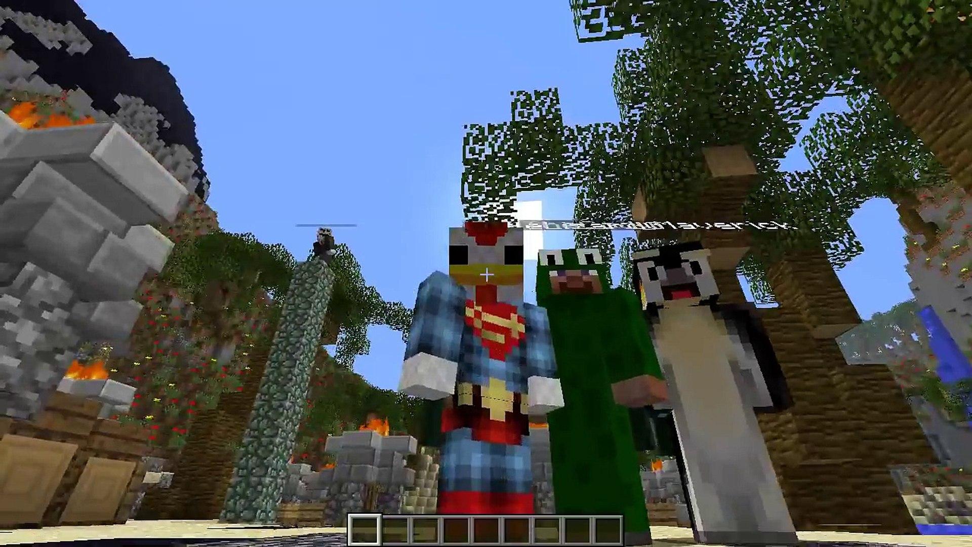 Minecraft | LUCKY BLOCK SUPERHERO BOSS CHALLENGE - SuperHero Villians: The  Scarecrow