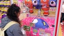 Fun winning Prizes at Adores Arcade - Tokyo, Japan!