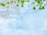 Emartbuy Alcatel One Touch Pop 10 Tablet Universal  9  10 Zoll  Schwarz Premium PU