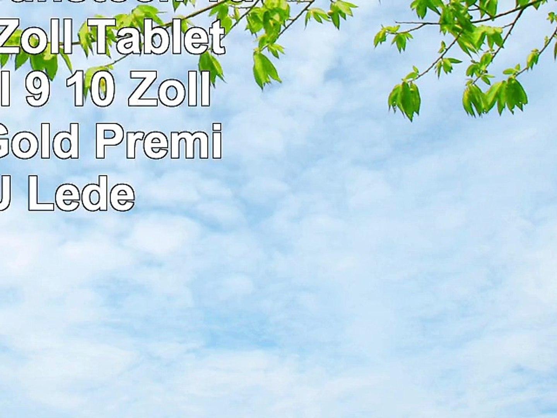 Emartbuy Sunstech Tab 92QC 9 Zoll Tablet Universal  9  10 Zoll  Metallic Gold Premium