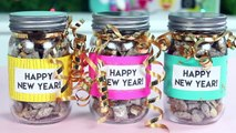 New Years Eve Desserts and DIYs - Mini Cinnamon Buns, Cookies, Puppy Chow, and More!
