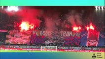 Tifo : PSG vs OGC Nice 27/10/2017 : 10 Years Of K-soce Team - Ultras World Channel