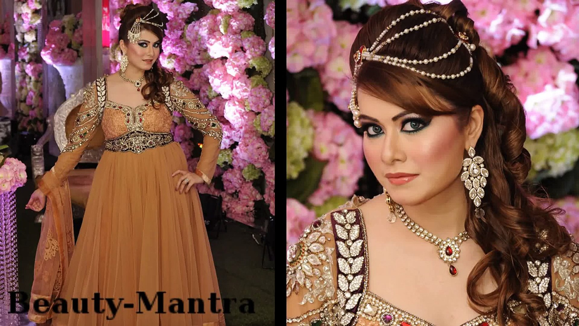 Wedding Makeup - Arabic Look With Indian Touch - Complete Hair And Makeup