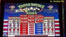 JACKPOT♬ LIVE♬★Triple Double STARS $2 Slot, Max Bet $6, Cosmopolitan Las Vegas, 赤富士スロット, Akafujislot