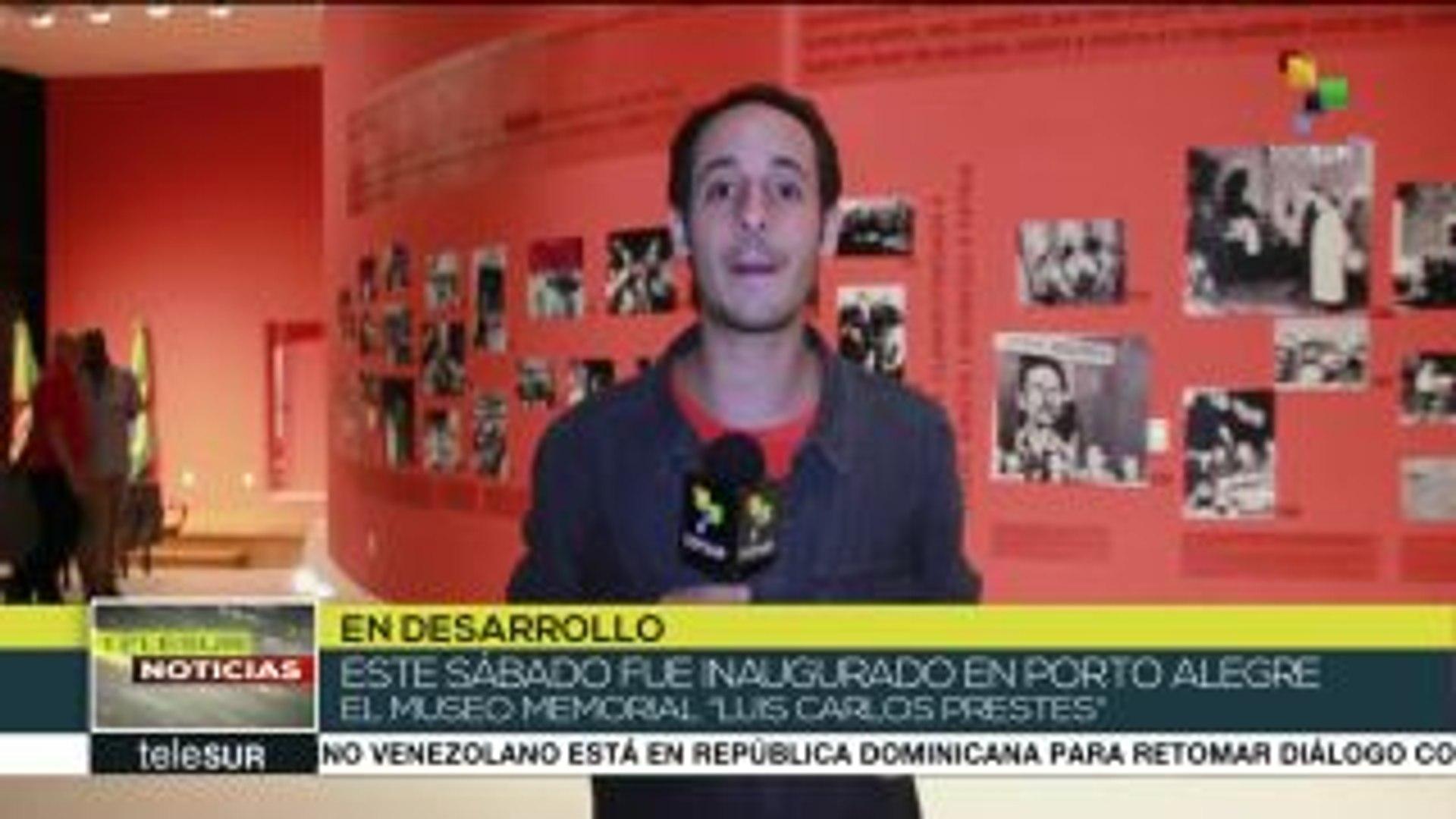 Brasil: Memorial expone muestra fotográfica sobre Luiz Carlos Prestes