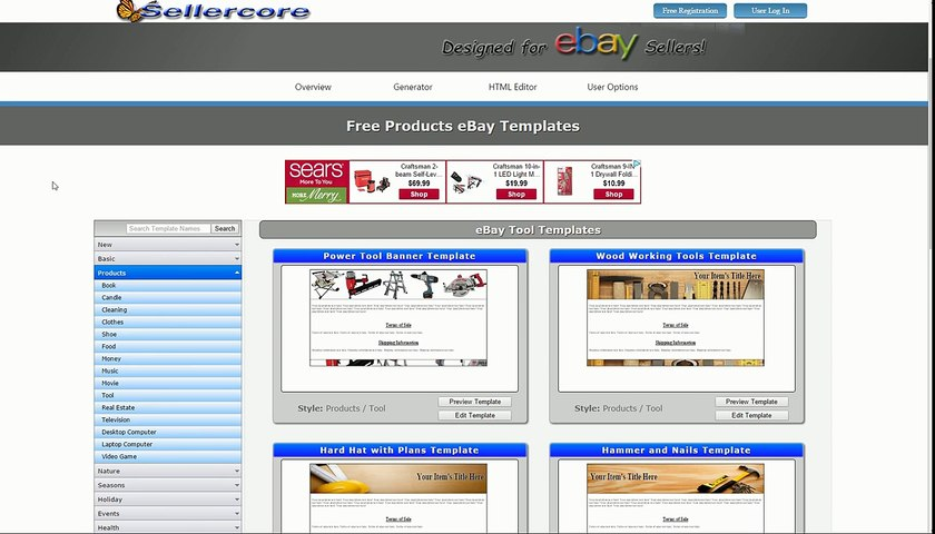 How To Make Free Ebay Templates Html Step By Step Editing Tutorial Video Dailymotion