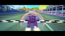 TOW MATER & Disney Pixar CARS Materhosen Extreme BATTLE Race Track in HD Compilation in CARS 2!