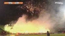 FK Sarajevo - NK Čelik / Bakljada i vatromet Hordi Zla