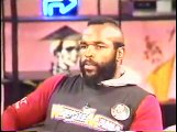 Hulk Hogan, Mr. T, Richard Belzer - TV host put in sleeper hold Live On TV 1984