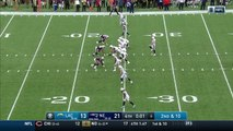 New England Patriots CB Jonathan Jones picks off Los Angeles Chargers QB Philip Rivers to end game