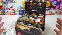 World of Tanks, шоколадные яйца Мир танков с коллекционной моделью внутри (WoT Surprise eggs)