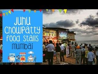 Juhu Chowpatty Food Stalls | Mumbai | The Bhukkad Diaries Reviews