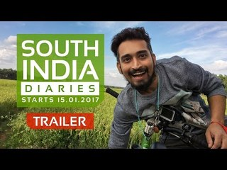 SOUTH INDIA DIARIES  TRAILER  | The MAD NoMAD | WIDE LENS