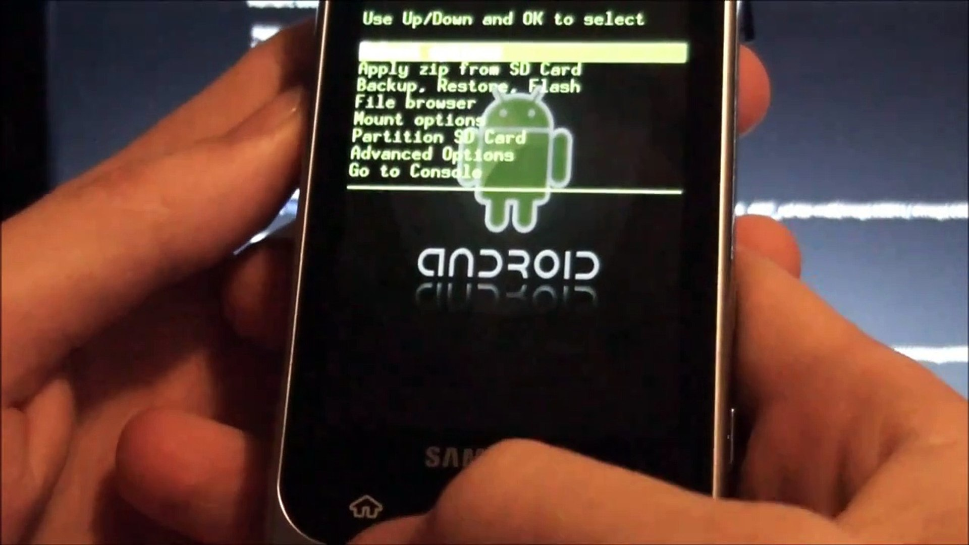 How To Root The Samsung Moment & Install Custom Rom