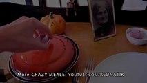 Klunatik Eating BRAINS, EYEBALLS and a TONGUE!!!  Kluna Tik Dinner #37 _ ASMR eating sounds face-_waqCfvfXBU