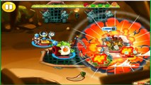 Angry Birds Epic: Part-5 Gameplay Chronicle Cave 1: Burning Plain 9-10 (Boss Fight Roof Collapse)