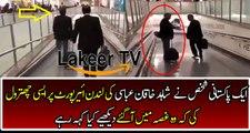 A Pakistani Guy Badly Insults Shahid Khaqan Abbasi At London Airport