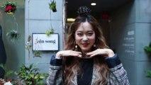 같이 옷고르고, 같이 화장하고, 같이 패션위크를!! 2018 s s seoul fashion week with Heizle