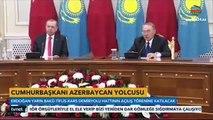 Ərdoğan Bakı-Tbilisi-Qars dəmir yolu xəttinin açılışı üçün Azərbaycana gəlib