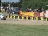 Chute pocket bike Championnat de France