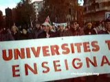 Manif cheminots, personnel iatos, étudiants...