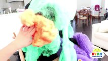 Bad Gorilla Steals Bad Daddy for Halloween! Bad Kid & Bad Mommy prank daddy with Mr bubbles-bTIaDsg84mo
