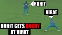 India vs NZ 3rd ODI : Rohit Sharma gets angry at Virat Kohli | Oneindia News