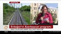 Bakü-Tiflis-Kars Demiryolu Hattı açılıyor