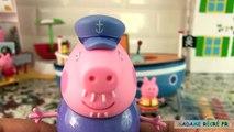 Peppa Pig Jouets Bateau de Grand père Papi Pig Grandpa Pigs Bathtime Boat
