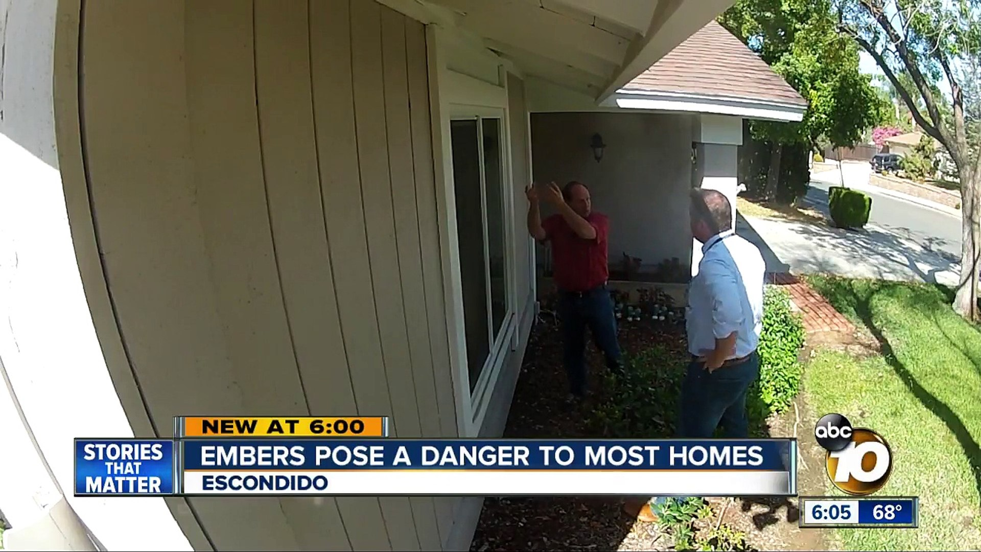Embers pose danger to most homes-k5E2i34K2PI