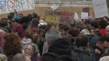 Me too : des centaines de manifestants dénoncent le harcèlement et les violences sexuelles
