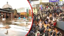 FULL VIDEO: Storm Herwart Causes Flood In Germany, Poland & Czech Republic