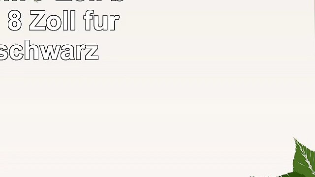Trust Ruo Rotating Cover 178 cm 7 Zoll bis 203 cm 8 Zoll für Tablet schwarz