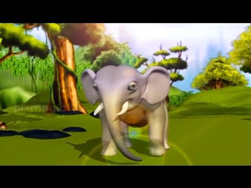 കൊമ്പനാന കറുമ്പനാന   Malayalam Kids Songs   Malayalam Rhymes   Malayalam  Cartoon Songs   Animation