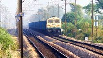Daring Old Lady | Freight Trains NCR | Mumbai Rajdhani gets Chased.