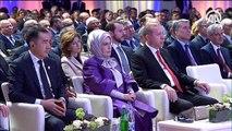 Erdoğan: Bakü-Tiflis-Kars Demiryolu' hattı kararlılığımızın eseri
