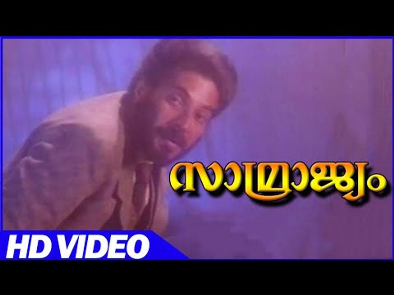 Samrajyam Malayalam Action Movie | Scenes | Mammootty Super Action Scene | mammootty