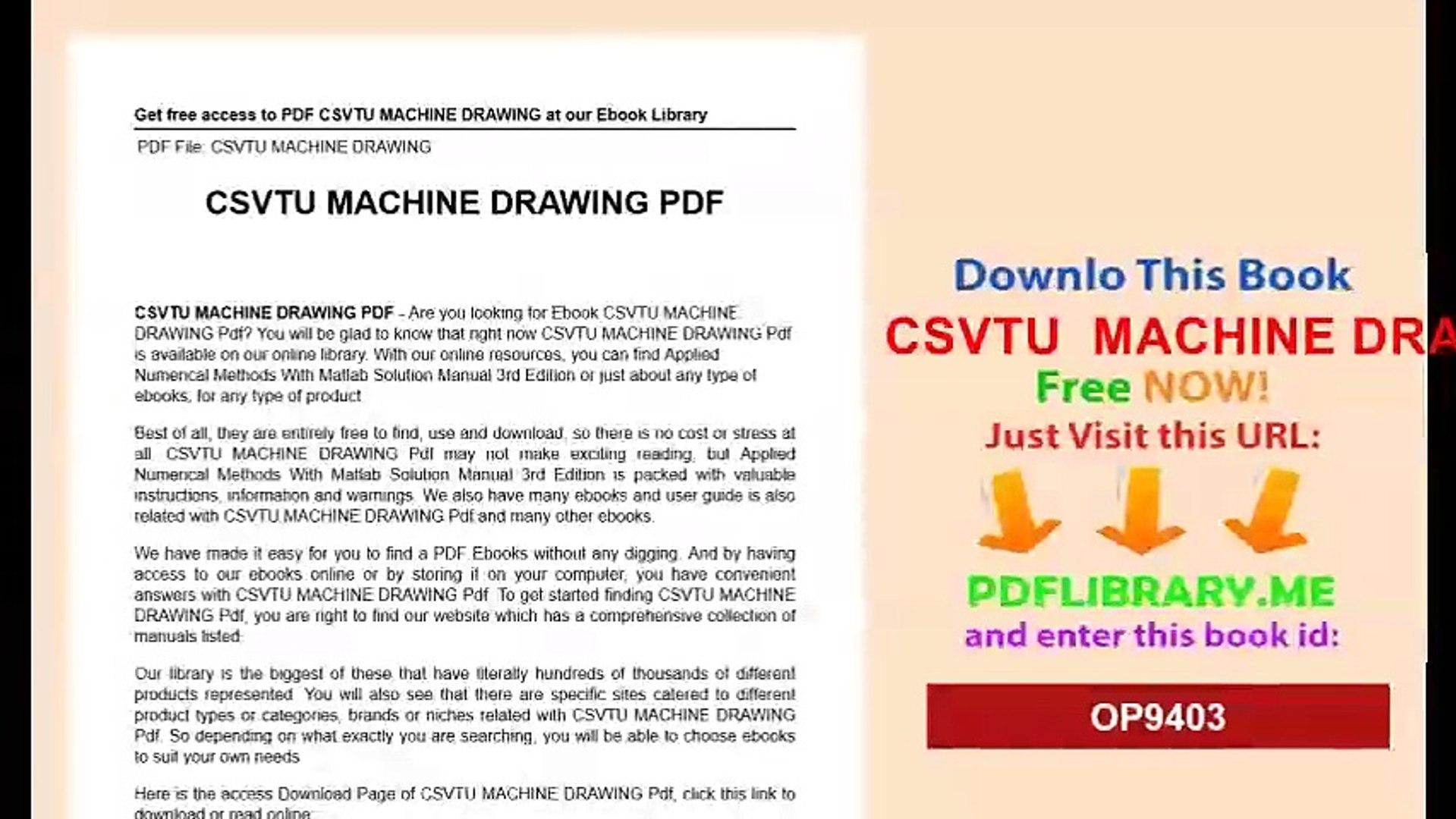 Machine drawing book pdf free download   h point book pdf download.