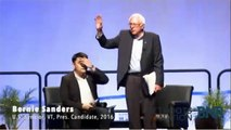 Bernie Sanders Responds To Black Lives Matter Protesters - Netroots Nation