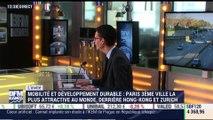 Paris est la 3ème ville au monde la plus durable en matière de mobilité - 30/10