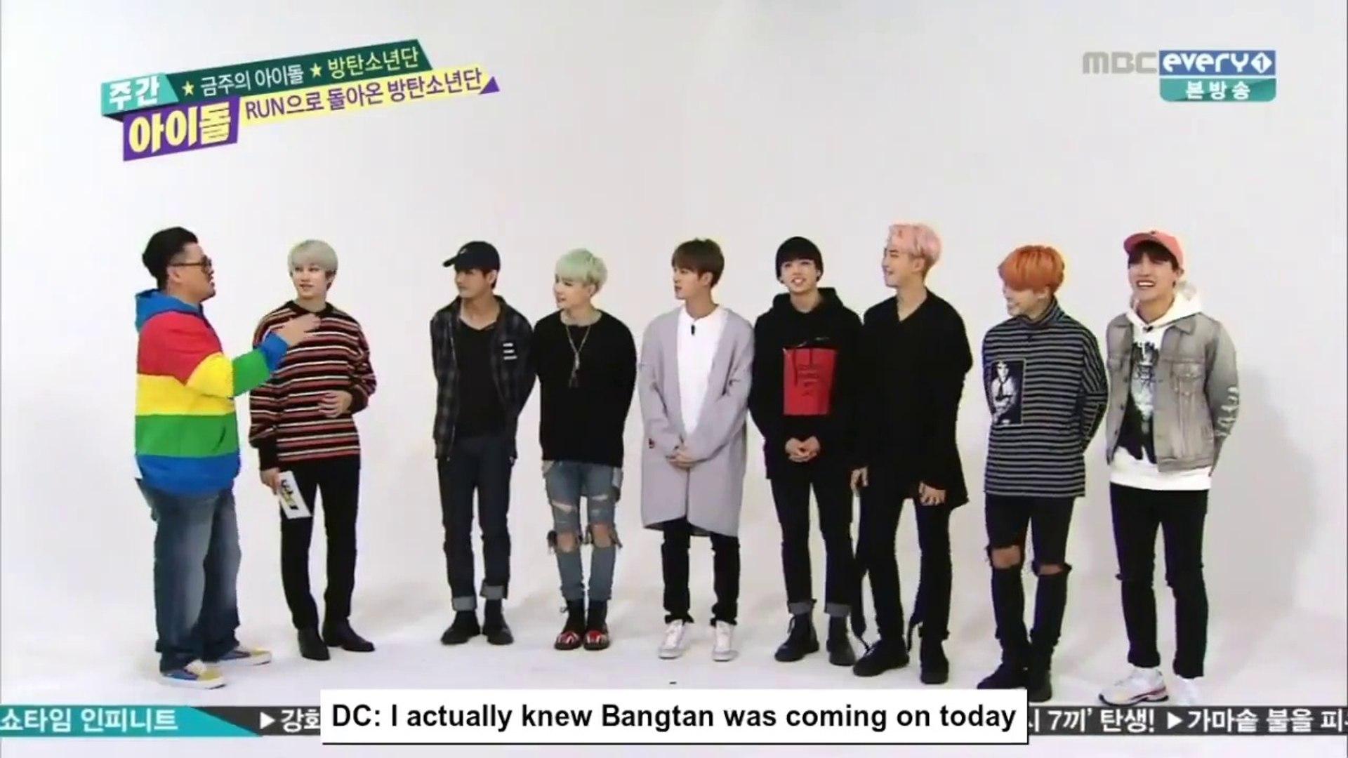 [ENG SUB] Weekly Idol EP 229 Bangtan Boys ( BTS )