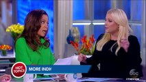 Fight breaks out on 'The View' when Meghan McCain tries to tout Clinton conspiracy: 'Hillary Clinton wasn't just indicte
