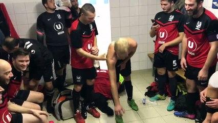 Victoire 1-0 contre le leader Carentoir